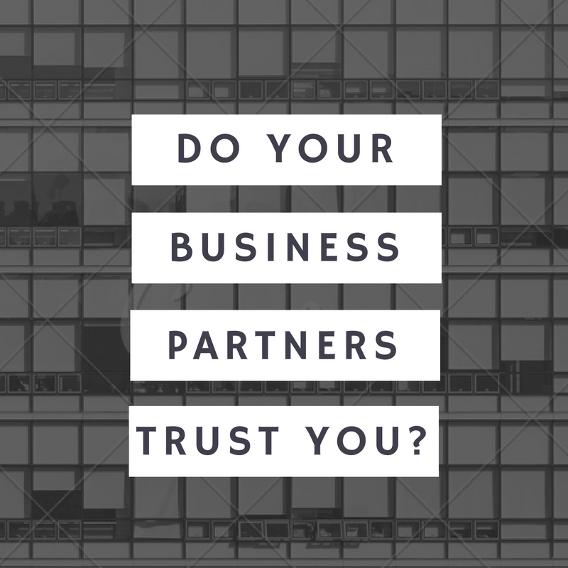 Trust in Business Relationshipts